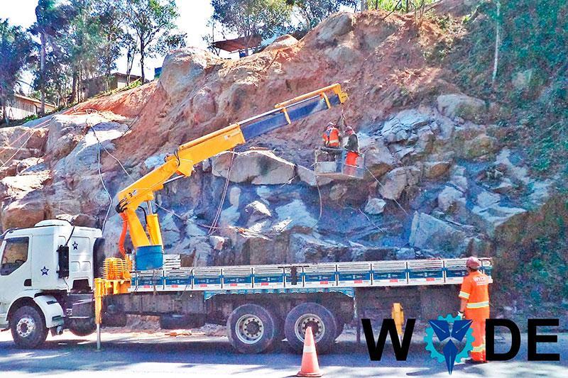 Perfuração em rocha