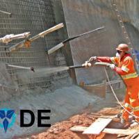 Projeção de concreto